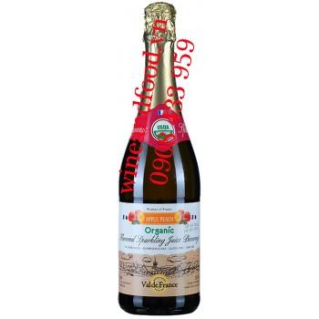 Nước trái cây Táo Đào Organic Valde France 750ml