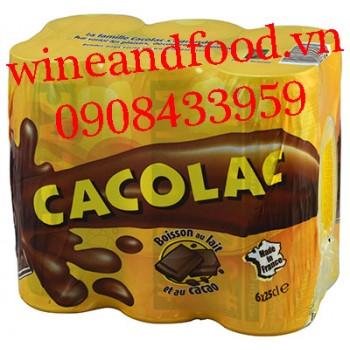 Cacao sữa Cacolac Pháp lốc 6 lon