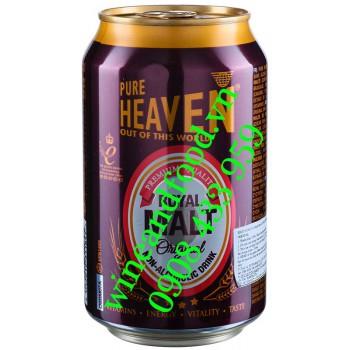 Nước uống mầm mạch nha không cồn Pure Heaven Royal Malt 330ml