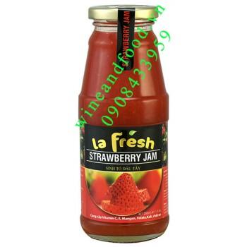Sinh tố dâu Mỹ La Fresh 350ml