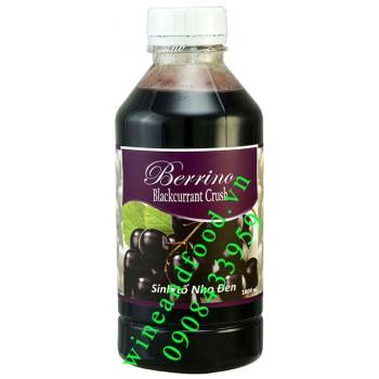 Sinh tố nho đen Blackcurrant Berrino 1000ml