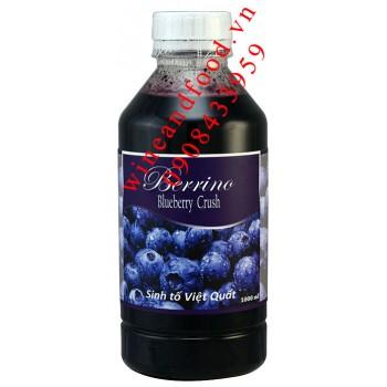 Sinh tố Việt Quốc Blueberry crush Berrino 1000ml