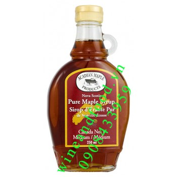 Siro cây lá Phong Acadian Maple Nova Scotia 250ml