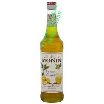 Siro chanh cô đặc Lemonade Monin 700ml