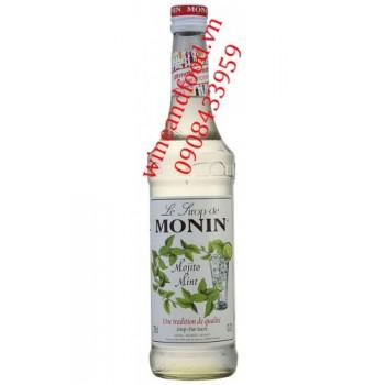 Siro Mojito bạc hà Monin 700ml