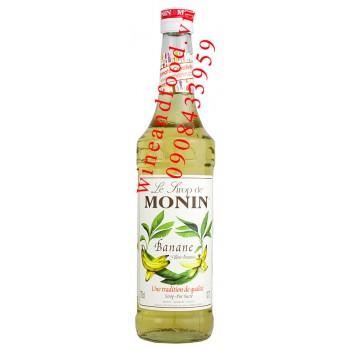 Siro Monin Chuối 700ml