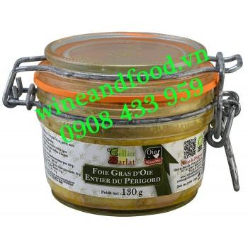 Gan Ngỗng Foie Gras D'oie Entier du Périgord Cellier Sarlat 130g