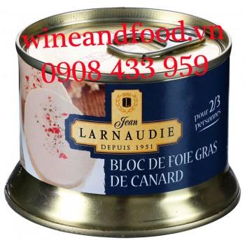 Pate gan ngỗng Bloc De Foie Gras De Canard Larnaudie 130g