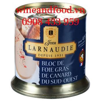 Pate gan ngỗng Bloc De Foie Gras De Canard Larnaudie 200g