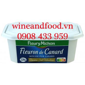 Pate gan Ngỗng Mousse Fleuron De Canard Fleury Michon 220g