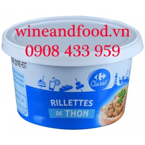 Pate Rillettes cá ngừ Classic 125g