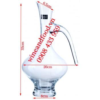 Bình Decanter rượu vang Huafu Fashionable 0346