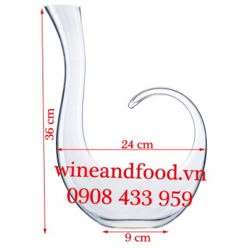 Bình Decanter rót rượu vang kiều 02