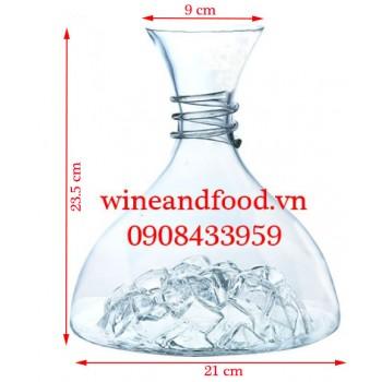 Bình Decanter rượu vang pha lê Baer DJ9708
