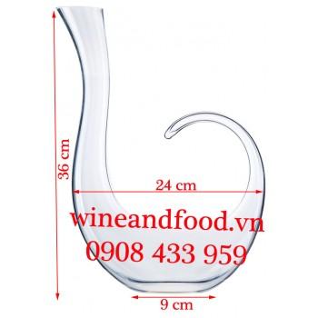 Bình Decanter rượu vang kiểu 02