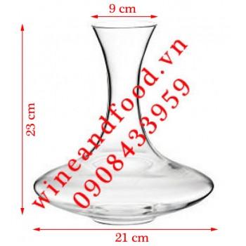 Bình Decanter rượu vang thủy tinh cao cấp Ý