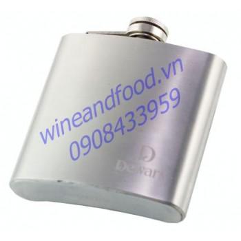 Bình đựng rượu inox 178ml