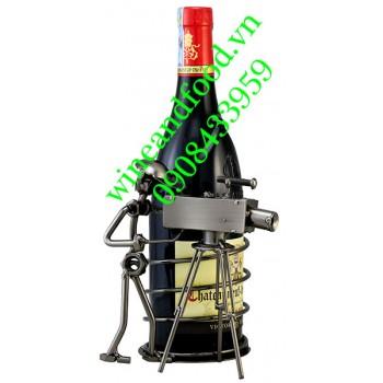 Kệ rượu mỹ nghệ 09