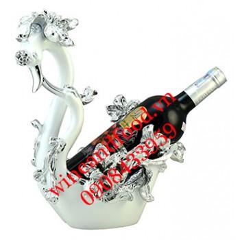 Kệ rượu thiên nga sứ