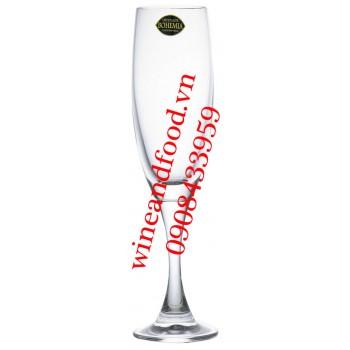 Ly Champagne pha lê Bohemia Tiệp 160ml