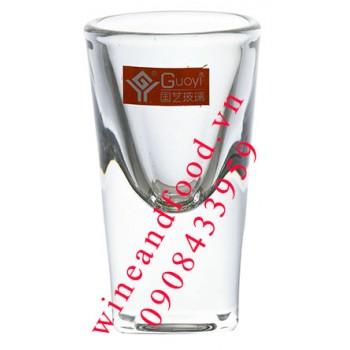 Ly rượu Vodka Guoyi