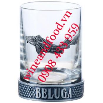 Ly uống rượu Vodka Beluga