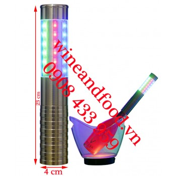 Đèn LED màu trang trí chai rượu 06