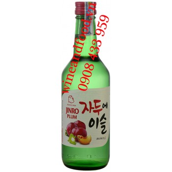 Rượu Soju Jinro Plum Mận 360ml