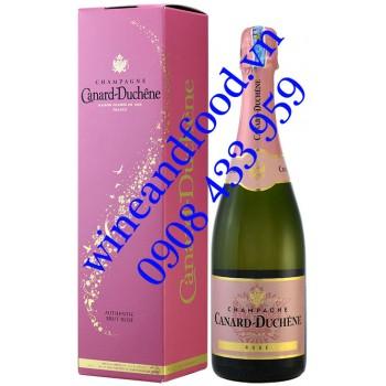 Rượu Champagne Canard Duchêne Authentic Brut Rosé