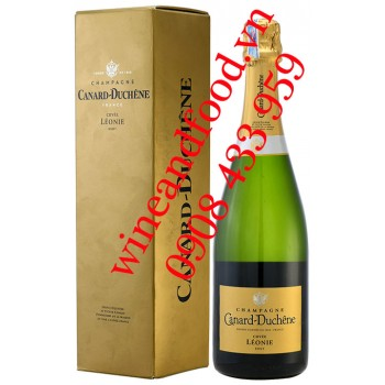 Rượu Champagne Canard Duchêne Cuvée Leonie Brut 750ml