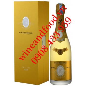 Rượu Champagne Louis Roederer Cristal Brut 2009 750ml