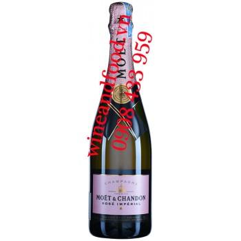 Rượu Champagne Moet & Chandon Rosé Impérial Brut 750ml