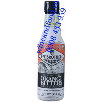 Nước Cam Đắng Orange Bitter Gin Barrel Age Fee Brothers 150ml