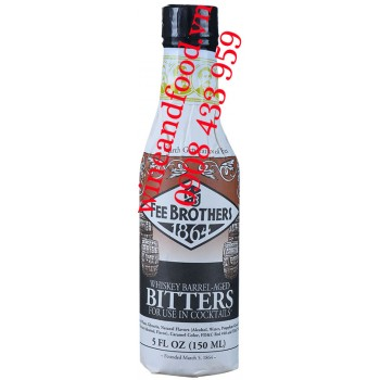 Nước đắng Bitters Whiskey Barrel Age Fee Brothers 150ml