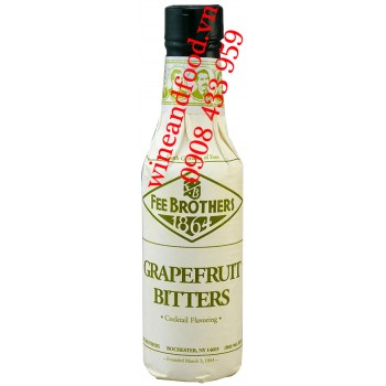 Nước đắng bưởi Grapefruit Bitters Fee Brothers 150ml