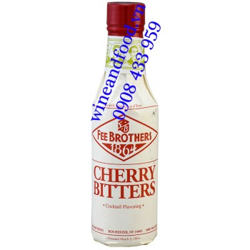 Nước đắng Cherry Bitters Fee Brothers 150ml