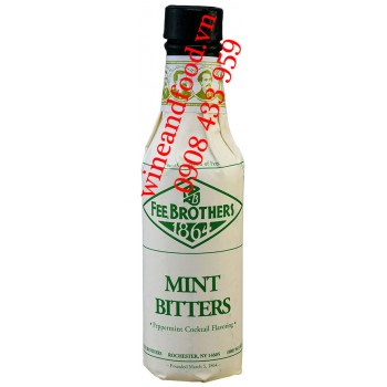 Nước đắng Mint Bitters Fee Brothers 150ml