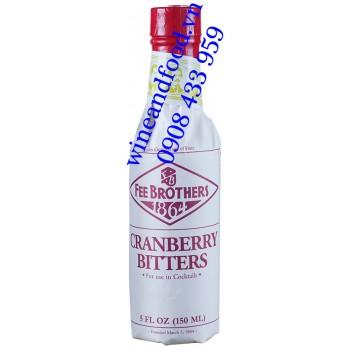 Nước đắng Nam Việt Quốc Cranberry Bitters Fee Brothers 150ml