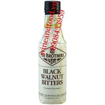 Nước Đắng Óc Chó Black Walnut Bitters Fee Brothers 150ml
