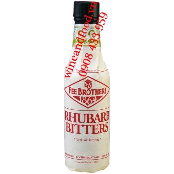 Nước đắng Rhubarb Đại Hoàng Bitters Fee Brothers 150ml