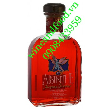 Rượu Absinthe Jacques Senaux Red 75% 750ml