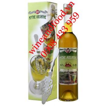 Rượu Absinthe Mythe Absinthe + muỗng 500ml