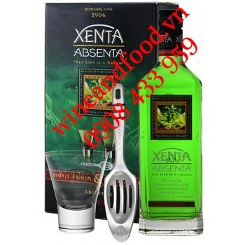Rượu Absinthe Xenta Absenta hộp quà 70cl