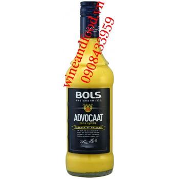 Rượu Advocaat Egg Liqueur Trứng Bols 700ml