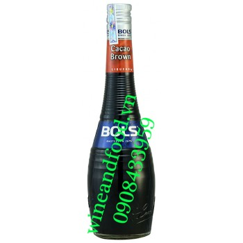 Rượu Bols Cacao Brown 700ml