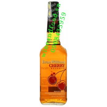 Rượu Evan Williams Cherry Kentucky liqueur 70ml