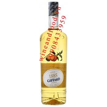 Rượu Giffard Creame de Peche Đào 1l