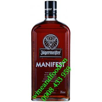 Rượu thảo mộc Jagermeister Manifest 1 Lít