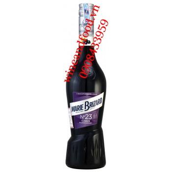 Rượu Marie Brizard Cassis Blackcurrant No.23