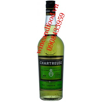 Rượu mùi Chartreuse Green 70cl